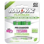 Rayovac® Recharge Plus NiMH Batteries, C, 2/Pack (PL714-2 GEN)