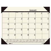 House of Doolittle™ EcoTones® Monthly Desk Pad Calendar, 2016, 22 x 17, Desert Tan (12443)