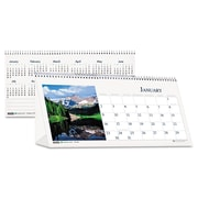 House of Doolittle™ Earthscapes™ Scenic Desk Tent Monthly Calendar with Photos, 2016, 8 1/2 x 4 1/2, Scenic (HOD3649)