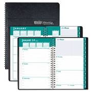 2016-2017, House of Doolittle™ Express Track® Weekly Appointment Book/Monthly Planner, Black (29402)