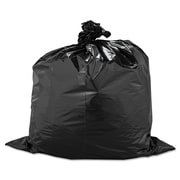 Warp's® Industrial Strength Flex-O-Bags® Trash Can Liners Trash Bags, 1.5 mil Thickness, Black, 33 gal, Each (795-FB33-100)