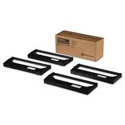 TallyGenicom® 255670402 Ribbon, OEM, Fabric, Black, 4/Pack (255670-402)