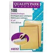 Quality Park™ Catalog Envelope, Brown Kraft, 6 x 9, 100/Box (40767)