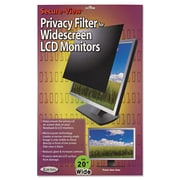 "Kantek Secure-View Black-Out Privacy Filter, 20"" Widescreen, 16:10, Notebook and LCD (SVL20.1W)"