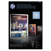 HP Laser Matte Brochure Paper, 8 1/2 x 11, White, Each (Q8824A)