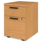HON® 10500 Series™ Mobile Pedestal File, 2 Drawer(s), Harvest, Legal; Letter (H105106.CC)