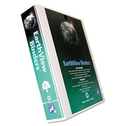 Aurora Products EarthView® D-Ring Presentation Binder, 8 1/2 x 11, View, Each (20377)