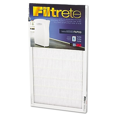 """""Filtrete Room Air Purifier Replacement Filter for Filtrete Room Air Purifier, 11 3/4"""""""" x 21 7/16"""""""" (FAPF03-4)"""""" 329175"