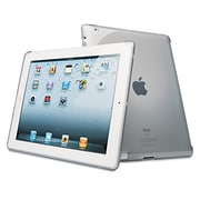 Kensington® Protective Back Cover for iPad®, iPad® 2, 3rd Gen, Clear (K39354US)