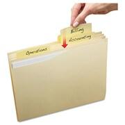 Avery® Slide & Lift Tab File Folder, Letter, Manila, 24/Pack (73503)