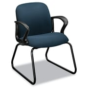 HON® Gamut® Series Guest Arm Chair, 100% Polyester, Loop, Cerulean (H2073.CU90.T)