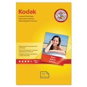 "Kodak Premium Photo Paper, White, 4""(W) x 6""(L), 60/Pack"