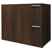 HON® Voi® Lateral File, 2 Drawer(s), Columbian Walnut, Legal; Letter (HLSL2036L2.Z.Z.T1)