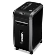 Fellowes® Powershred® 90S Strip-Cut Shredder, 18 Sheet Capacity, Black/Dark Silver (FEL4690001)