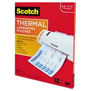 Scotch™ Laminating Pouches, 3 mil, 9 x 11 1/2, 100/Pack (TP3854-100)