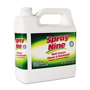 Spray Nine® Multi-Purpose Cleaner & Disinfectant, Unscented, 1 gal, 4/Carton (DYM 26801-4)
