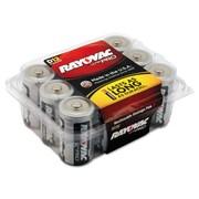 Rayovac® Ultra Pro™ Alkaline Batteries, D, 12/Pack (ALD-12F)