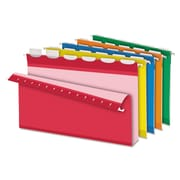 Pendaflex® Ready-Tab® Extra Capacity Reinforced Colored Hanging Folders, Assorted, Legal, 20/Box (42702)