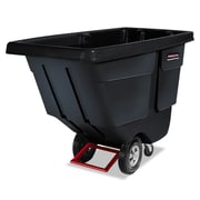 Rubbermaid® Commercial Rotomolded Tilt Truck, 850 lbs Capaity, Black, Each (RCP 1314 BLA)