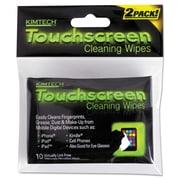 "Kimtech* Disposable Wipes, 3 9/10"" x 3 1/10"", Unscented, 48/Carton (KCC 25932)"