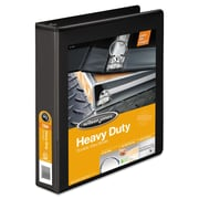 Wilson Jones® Heavy-Duty Round Ring View Binder with Extra-Durable Hinge, 8 1/2 x 11, View, Each (W363-34BAPP1)