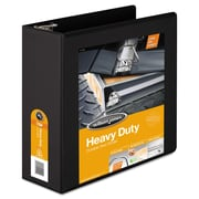 Wilson Jones® Heavy-Duty D-Ring View Binder with Extra-Durable Hinge, 8 1/2 x 11, View, Each (W385-54BAPP)