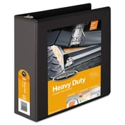 Wilson Jones® Heavy-Duty D-Ring View Binder with Extra-Durable Hinge, 8 1/2 x 11, View, Each (W385-49BPP1)