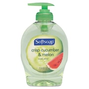 Softsoap  Fruit Essentials Moisturizing Hand Soap, Cucumber Melon, 7.5 oz, 12/Carton (26090)