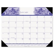 House of Doolittle™ One-Color Photo Monthly Desk Pad Calendar, 2016, 22 x 17, Nature (140HD)