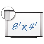 "3M Porcelain Dry Erase Boards, White, 48"" X 96"" X 1"" (P9648A)"