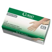 Curad® Stretch-Vinyl Exam Gloves, Beige, X-Large, 130/Box (CUR9227)