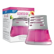 BRIGHT Air® Scented Oil™ Air Freshener, 2.5 oz, Fresh Petals & Peach, 6/Carton (BRI 900134)