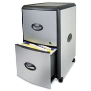 Storex Mobile Filing Cabinet with Metal Siding, Each (61351U01C)