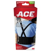 ACE™ Work Belt with Removable Suspenders, Mesh, One Size, Black, Each (208605)