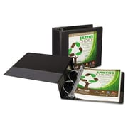 Samsill® Earth's Choice™ Heavy-Duty Biodegradable D-Ring View Binder, 8 1/2 x 11, View, Each (50362)