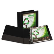 Samsill® Earth's Choice™ Heavy-Duty Biodegradable Round Ring View Binder, 8 1/2 x 11, View, Each (50362)