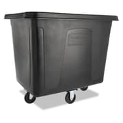 Rubbermaid® Commercial Cube Truck, 500 lbs Capaity, Black, Each (FG461600BLA)
