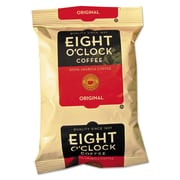 Eight O'Clock Regular Ground Coffee Fraction Packs, Original, 2 oz, 42/Carton (320840)
