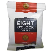 Eight O'Clock Regular Ground Coffee Fraction Packs, Original, 1.5 oz, 42/Carton (320820)