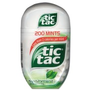 Tic Tac® Mints, 3.4 oz, Freshmint, 4/Box (00631)