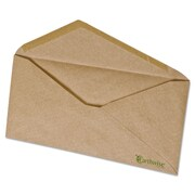 Ampad® Earthwise® Recycled Natural Brown Envelope, Gummed Flap, 4 1/8 x 9 1/2, Natural Brown, 500/Box (19702)