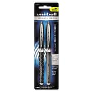 uni-ball® VISION ELITE™ Designer Series Roller Ball Pen, 0.8 mm, Black, 2/Pack (1858550)