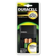 Duracell® ION SPEED™ 500 Starter Kit Charger, AA; AAA, 1/Kit (80237965)