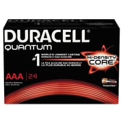 Duracell® Quantum Alkaline Batteries with Duralock Power Preserve™ Technology, AAA, 144/Carton (QU2400BKD09)
