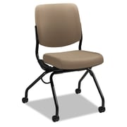 HON® Perpetual® Series Folding Nesting Chair, 100% Polyester, Armless, Morel (HONPN1AUUCU24T)
