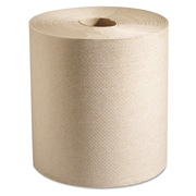 Marcal PRO™ Hardwound Roll Paper Towels, 1-Ply, Hardwound Paper Towel Roll, Natural, 4800/Carton (P728N)