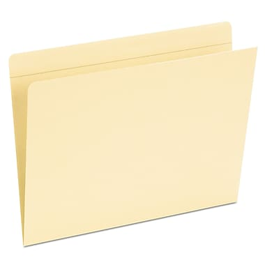Pendaflex® Top Tab Pocket Folders, Letter, Manila, 50/Box (16651)