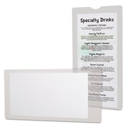Oxford® Utili-Jacs™ Heavy-Duty Clear Envelope, Clear, 50/Each (65049)
