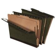 Pendaflex® SureHook® Reinforced Hanging Divider Folders, Standard Green, Letter, 10/Box (59254)