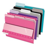 Pendaflex® Interior File Folders, Letter, Assorted, 100/Box (421013ASST2)
